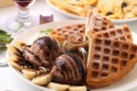 waffle dessert web