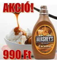 Hershey's karamell szirup akció