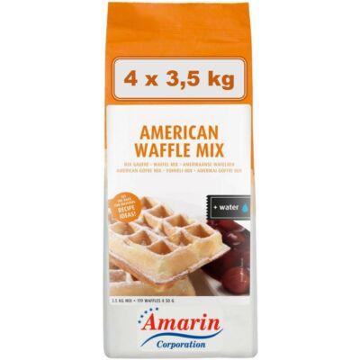 Amerikai Waffle Mix, kartonos