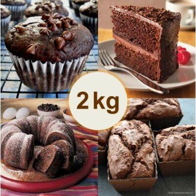 Csokoládés sütemény alap (2 kg)