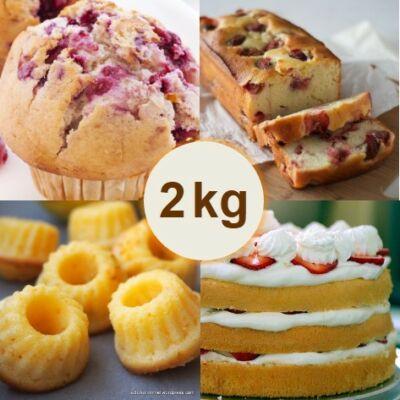 Vaníliás sütemény alap (2 kg)