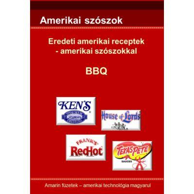 Amerikai BBQ receptek - e-könyv