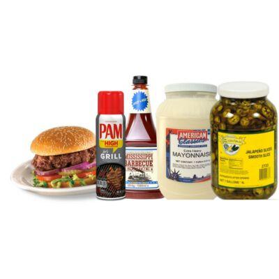 Hamburgeres kezdő csomag