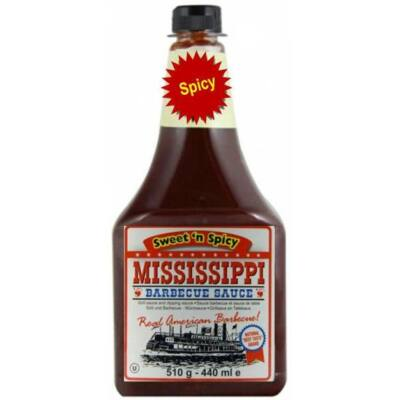 Mississippi Barbecue szósz (Sweet'n Spicy) 1814 g