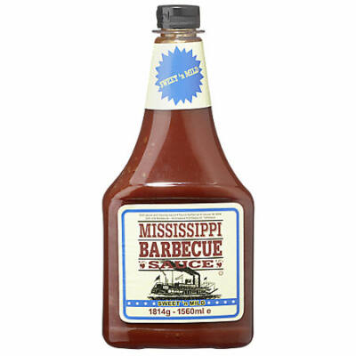 Mississippi Barbecue szósz (Sweet'n Mild)