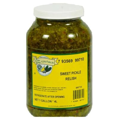 Sweet Pickle Relish - uborkadzsem