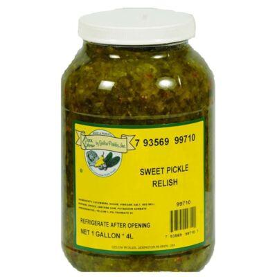 Sweet Pickle Relish - uborkadzsem