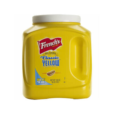French's Yellow mustár 3 kg