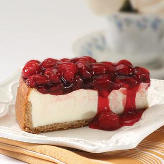 Cseresznyés cheesecake