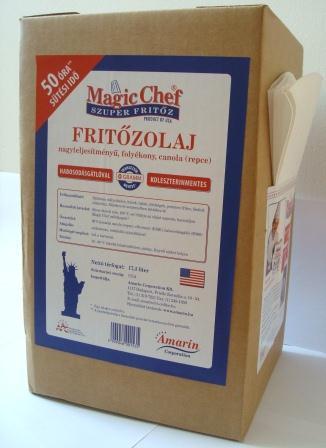 Magic Chef Fritőzolaj