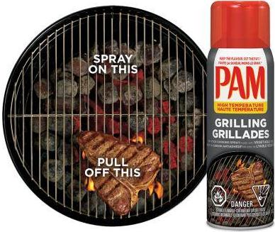 Pam for grilling